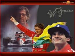 Ayrton best on the podium